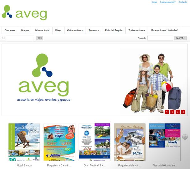 Agencia de viajes Aveg
